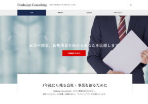 Bizdesign Consultingのホームページ